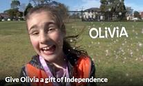 Olivia's fundraising