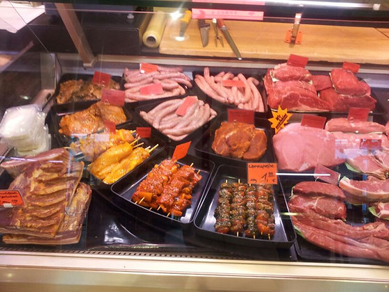 Variety Meat selection