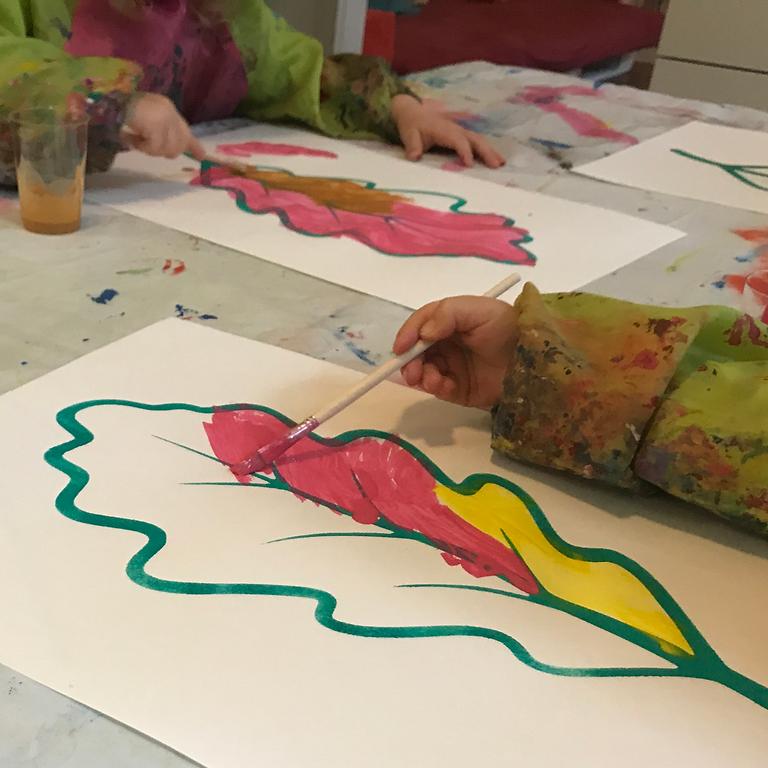 Maus, pass auf! - Bildergeschichte und Malen mit Gouache