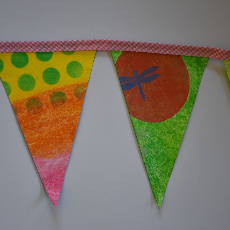 Familien-Workshop: Wimpelkette aus Tyvek