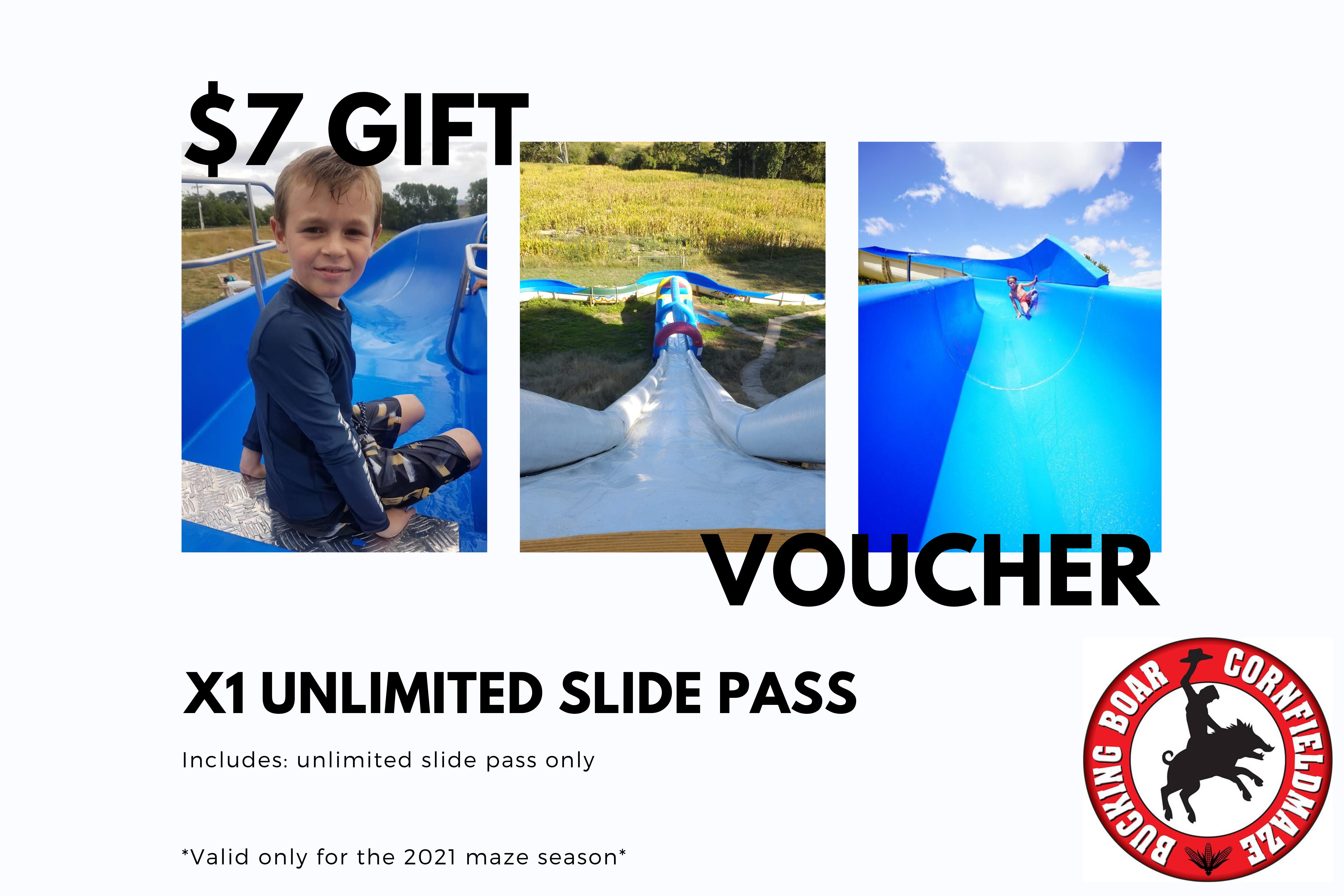 Gift Voucher - Unlimited Slide Pass
