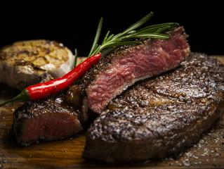 Мясной ресторан в Казани, стейки из мраморной говядины