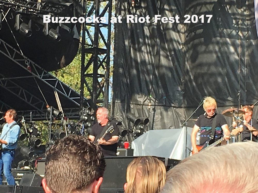 Buzzcocks at Riot Fest 2017