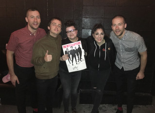 THE INTERRUPTERS  NOVEMBER 13, 2018 VELVET JONES – SANTA BARBARA, CA