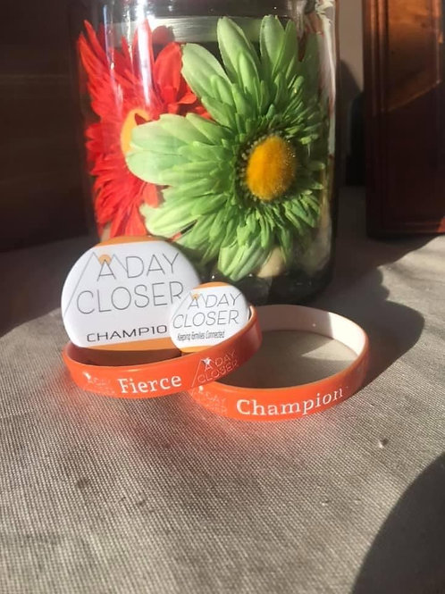 A Day Closer Fierce Champion Wristbands