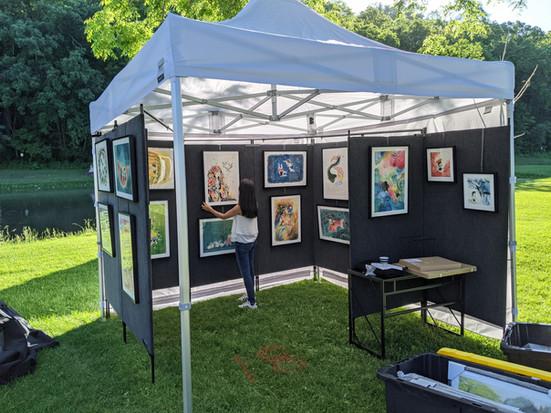 We Won THE BEST IN SHOW In Lanesboro 40th Art Fair