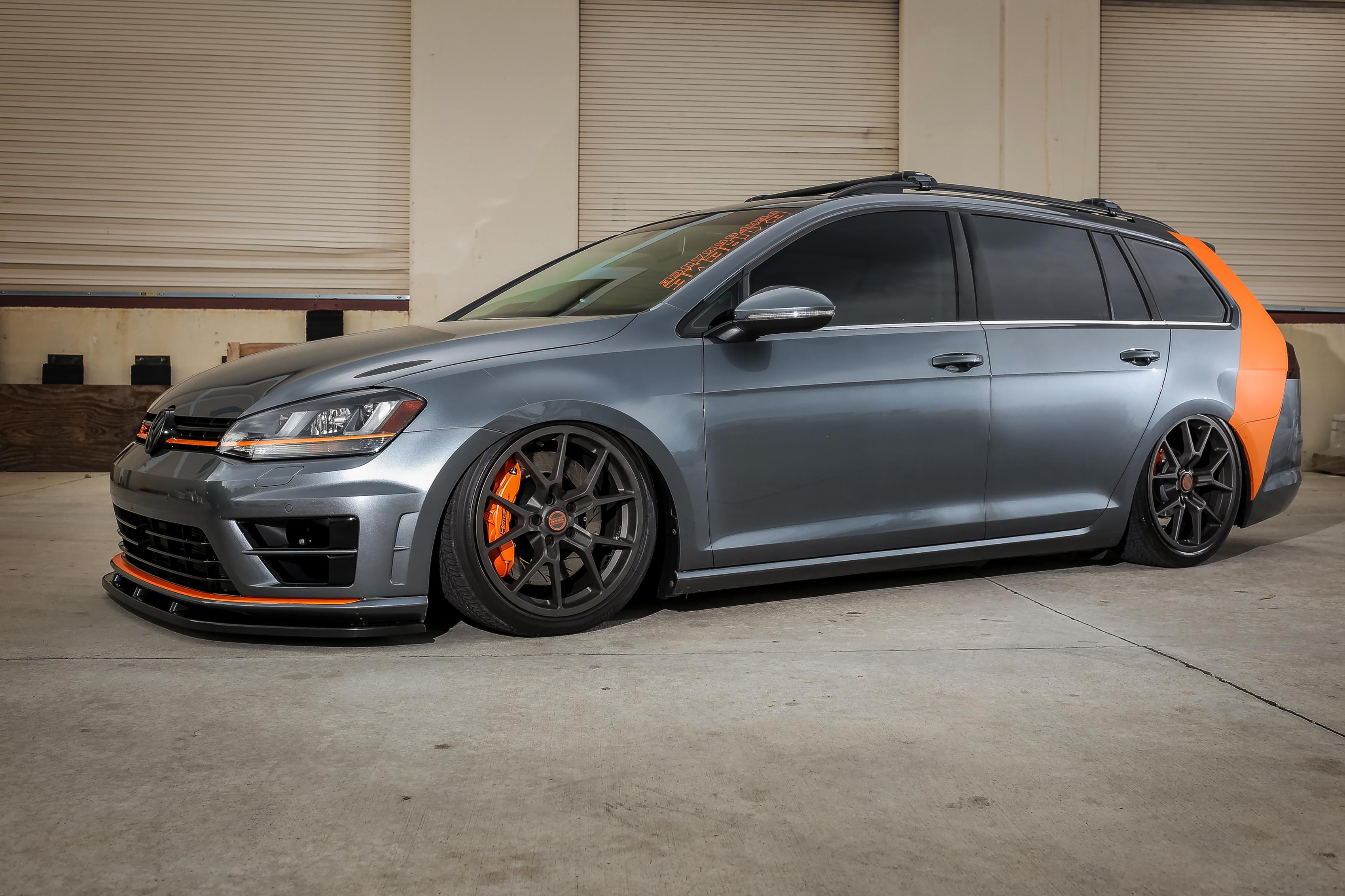 Grey VW