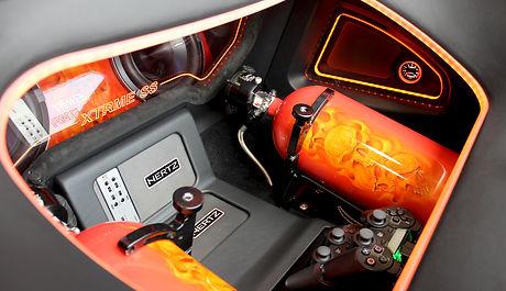Custom interior and audio