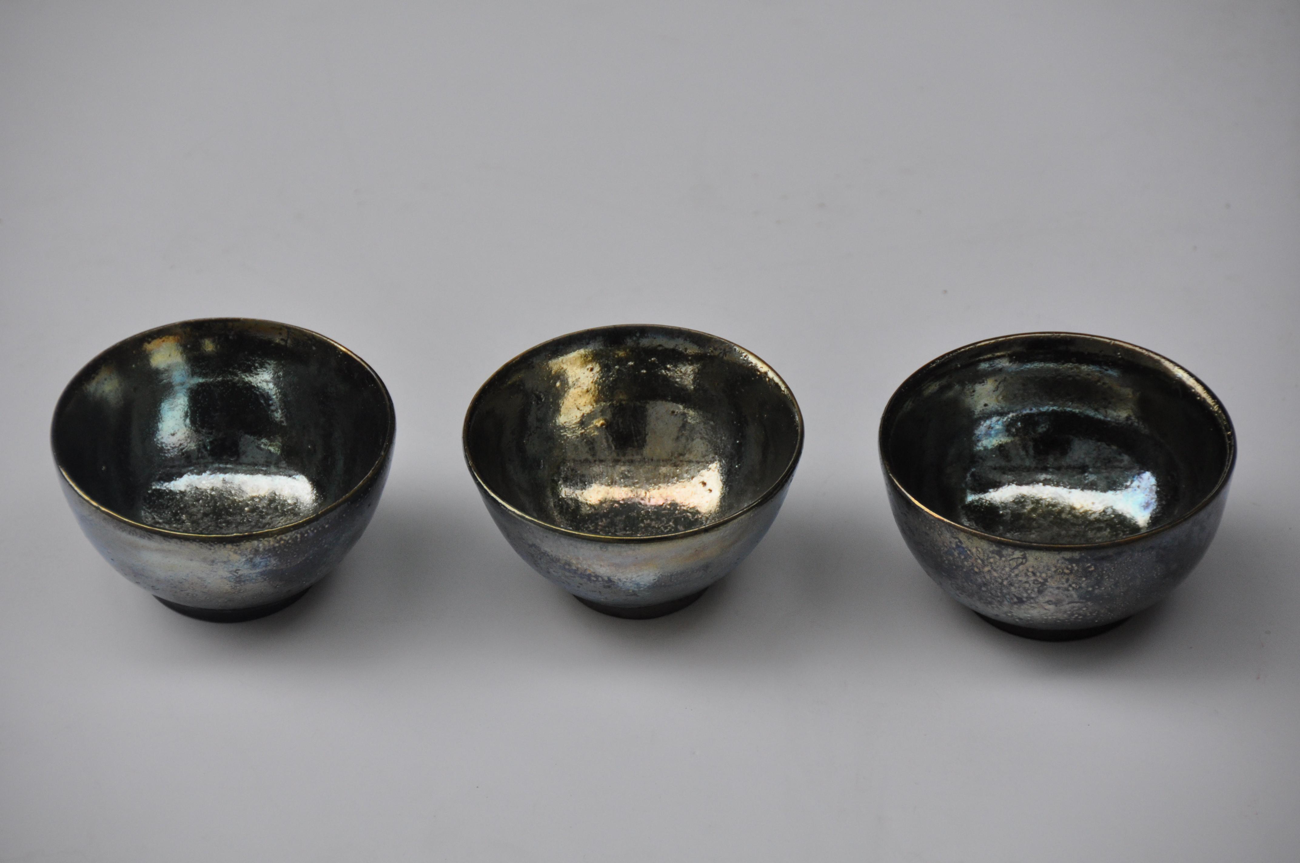 Trio de mini-bols