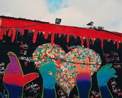 Love Hands - Mural