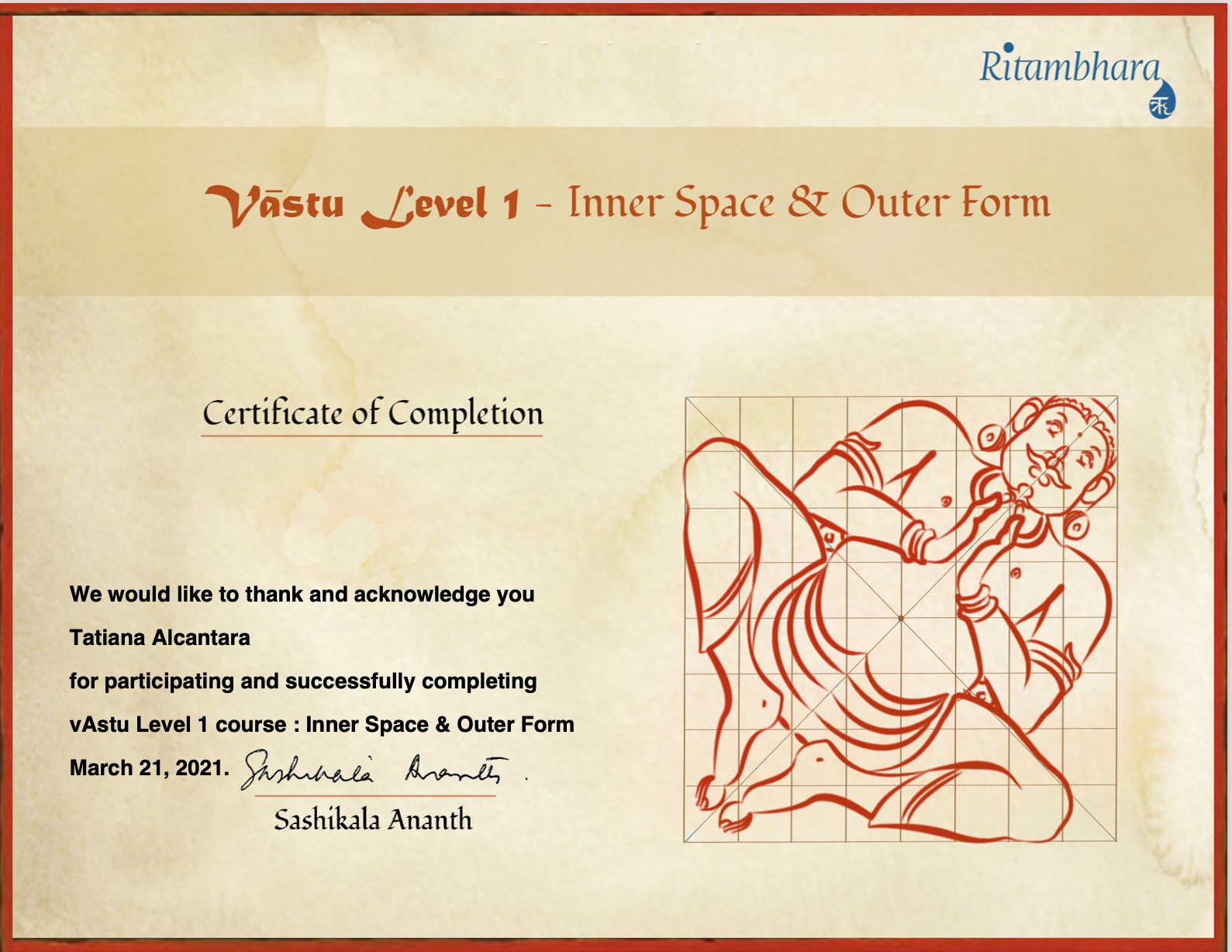 vAstu Course Level 1 - Inner-Space & Outer From
