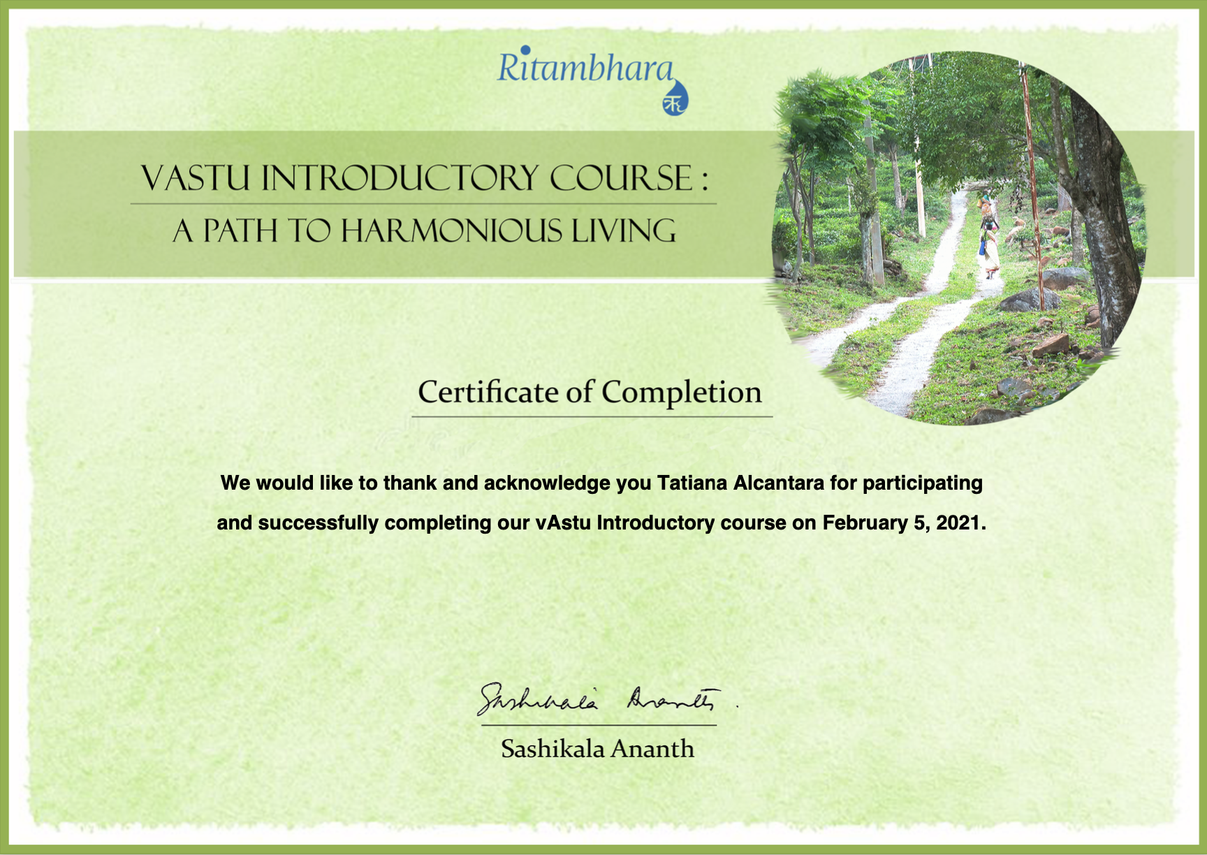vAstu Introductory Course - A Path to Harmonious Living