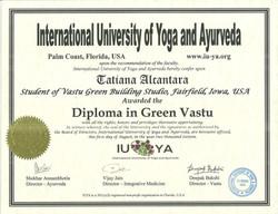 Green Vastu Diploma 2016