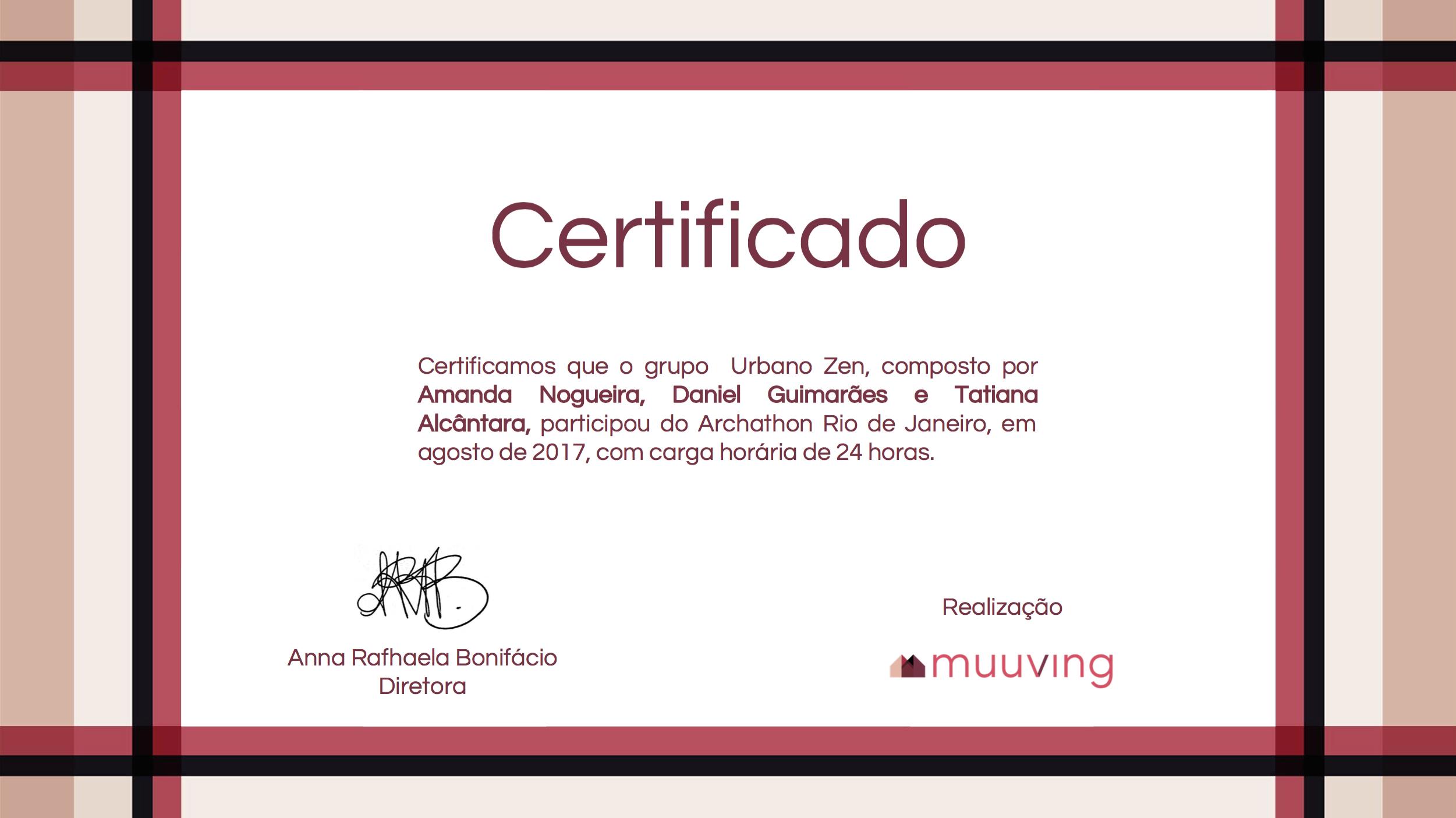 Certificado Archaton