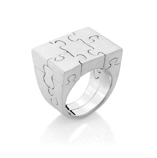 Antonio Bernardo - Silver Puzzle Ring