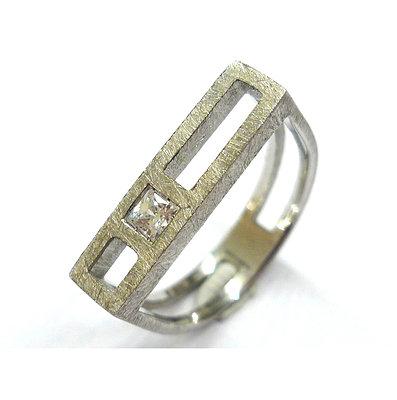 Gemma López - Solitari Collection Ring