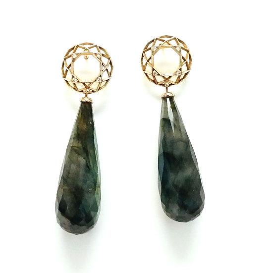 Salima Thakker - Facets Earrings