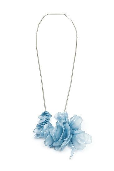 Fabiana Gadano - Pale Blue Long Necklace