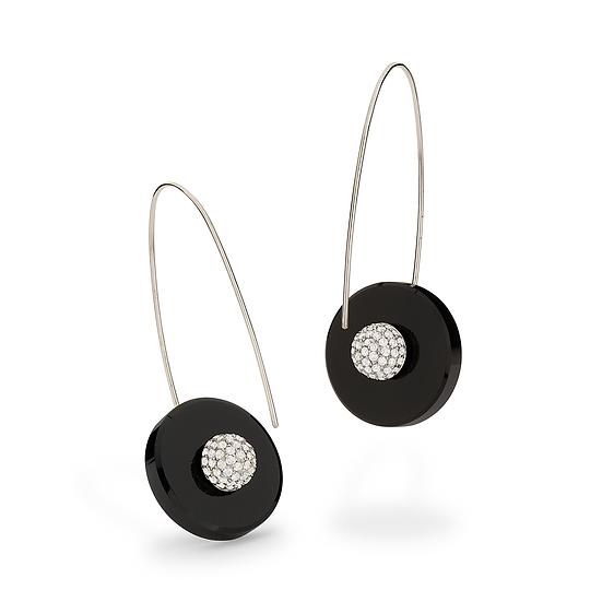 Yael Sonia - Round Base Earrings
