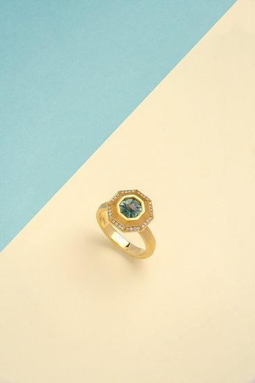 Rachel Yeung- Vertex Sapphire Ring