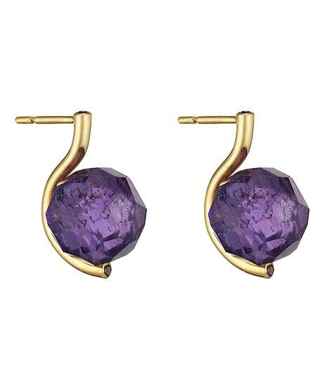 Yael Sonia - Rock Small Faceted Earrings