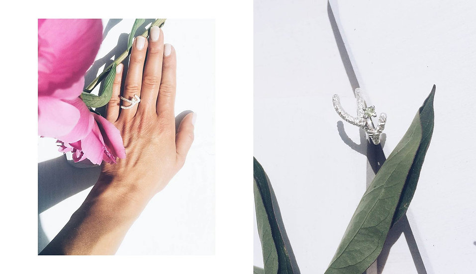 by/jewellery - Forest of the Bloom Ring