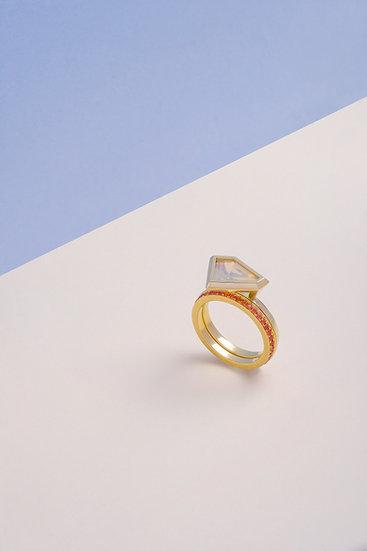 Rachel Yeung- Vertex Opal Ring
