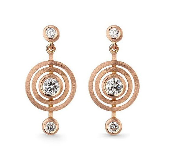 Shimell & Madden - Orb Drop Earrings