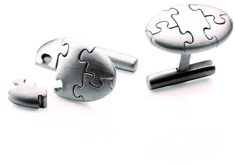 Antonio Bernardo - Puzzle Cufflinks