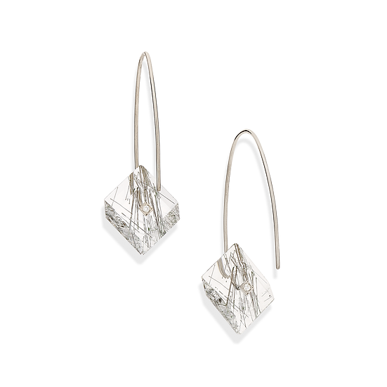 Yael Sonia - Square Earrings (Small)