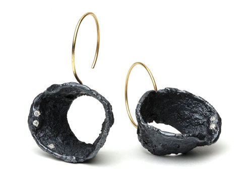 Emanuela Duca - Magma Earrings