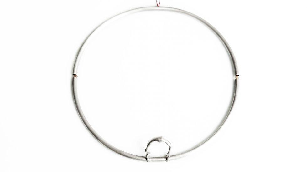 Ariadni Kypri - Nicole in Circle Necklace