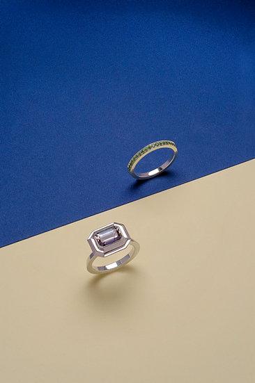 Rachel Yeung- Vertex Tanzanite Ring