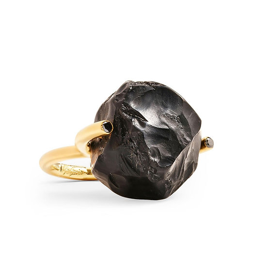 Yael Sonia - Rock Hammered Brilliant Fancy Ring