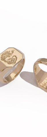 Brothers signet ring