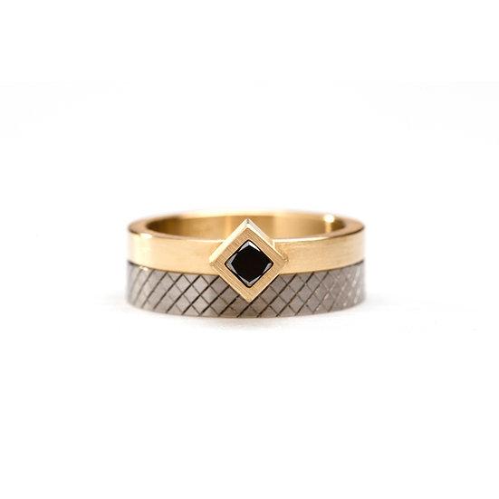 Phoebe Porter - Angled Cubist Ring