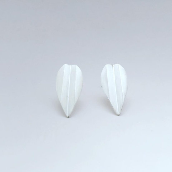 Malin Ohlsson - Creased Leaves Earrings