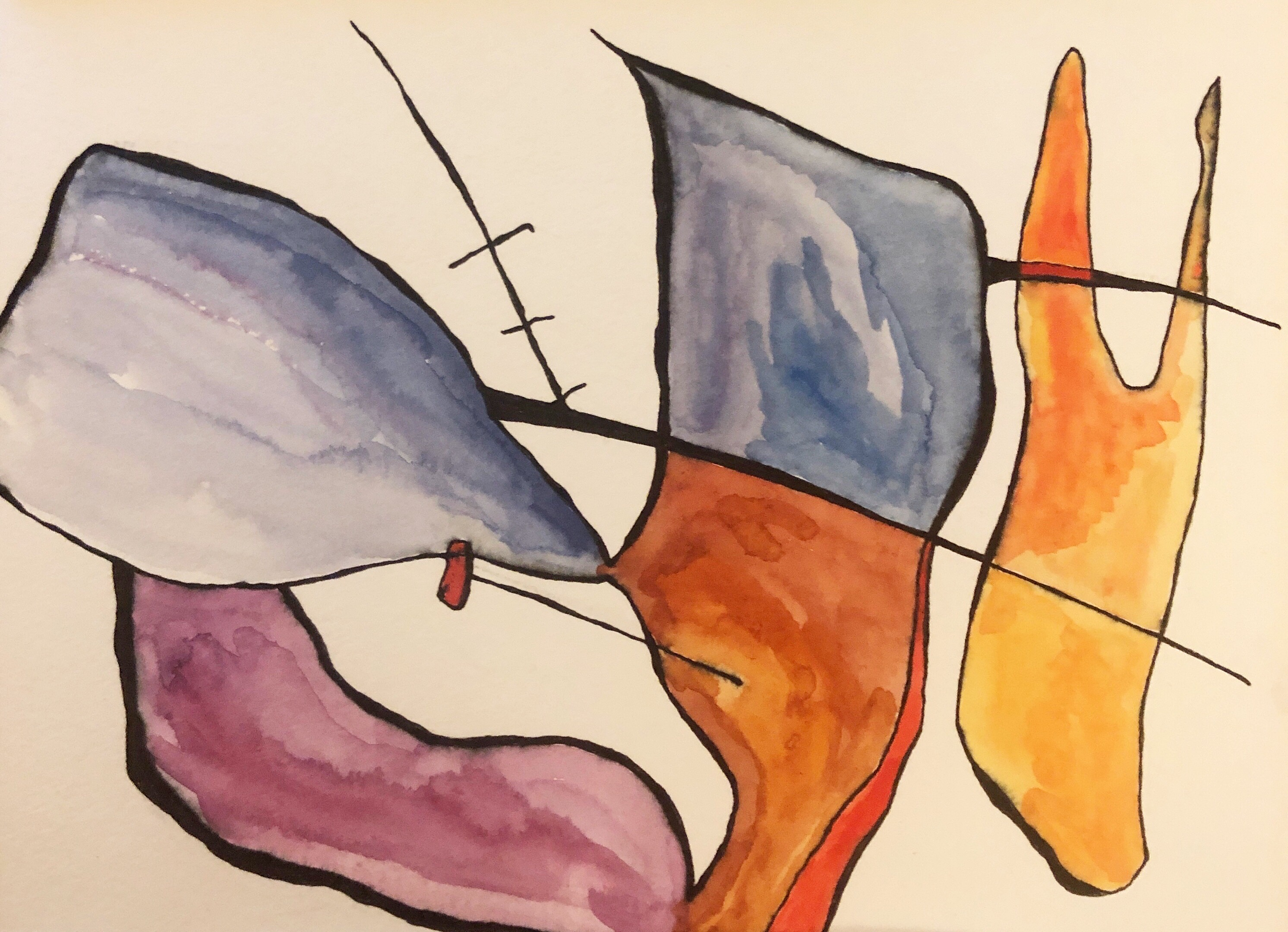 Untitled, watercolor