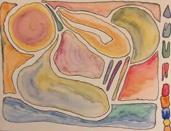 sketch, watercolor