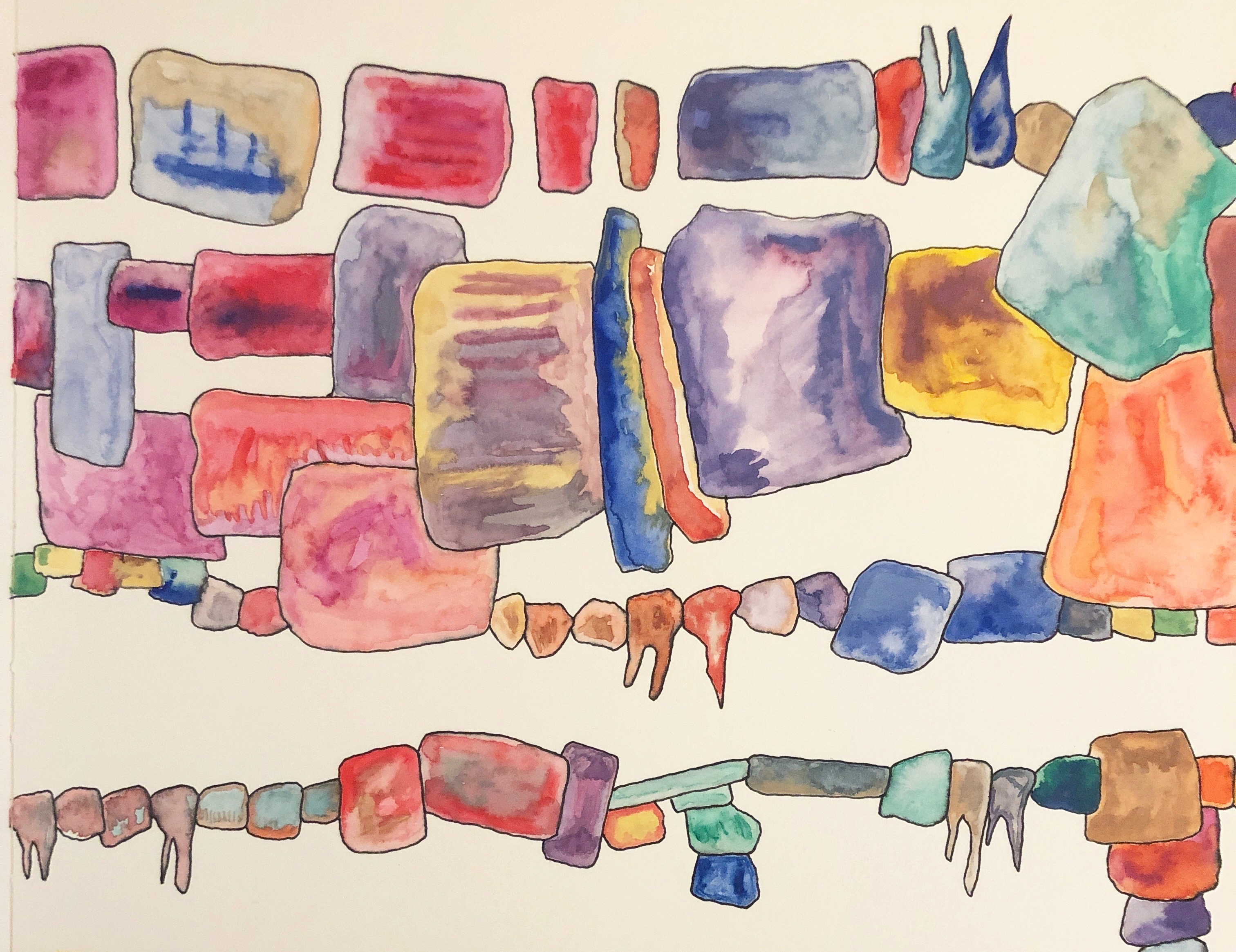 Untitled 3, watercolor
