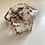 Thumbnail: Roses and Gold Flakes Jewelry Box