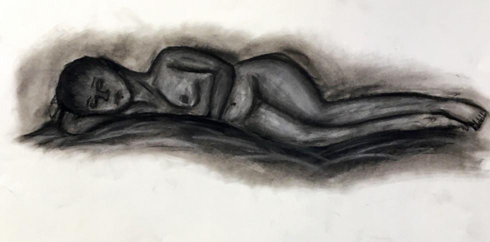 Slumbering Figure