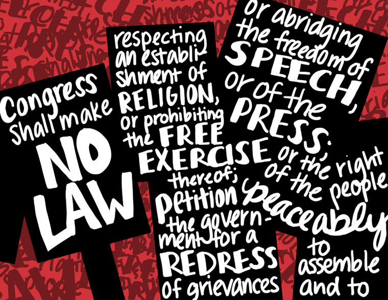 First Amendment (Image and Text)
