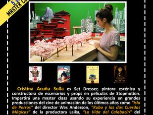 Master class con Cristina Acuña