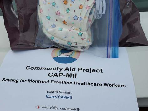 Projet d'aide communautaire(CAP-MTL)
