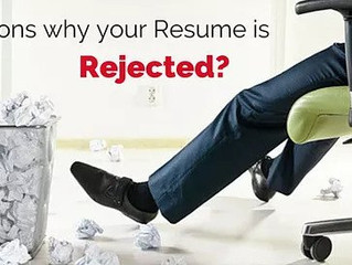 What Are The Top Reasons Resumes Get Rejected by Employers?