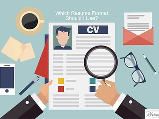 What Are The Most Popular Types of Resume Formats?
