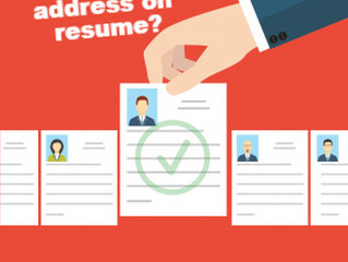 Should You List Your Home Address On Your Resume?