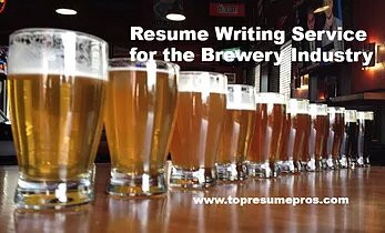 Resume Writing Service for the Brewery Industry