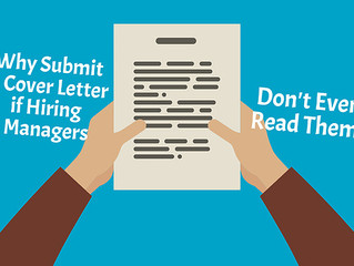 If Most Hiring Managers Don't Read Cover Letters, Why Is It Crucial To Submit One?
